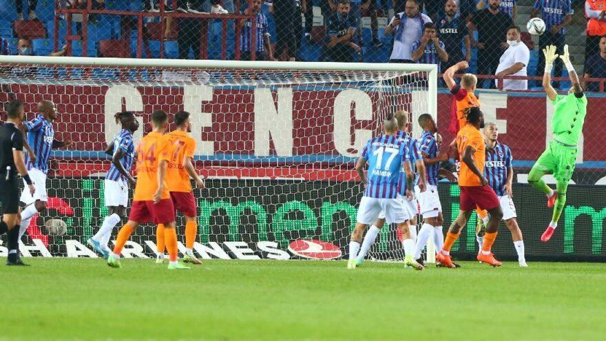 Trabzonspor-Galatasaray maçı nefes kesti! Muhteşem geri dönüş