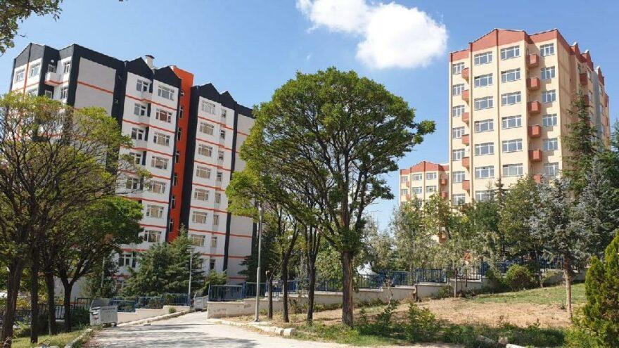 Ankara Büyükşehir Belediyesi'ne ait taşınmazlar, 800 üniversite öğrencisine yurt olacak