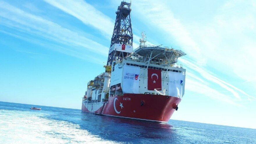 Fatih gemisi yeniden sondaja başladı