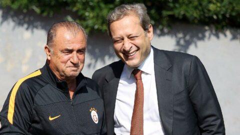 Galatasaray Başkanı Burak Elmas Fatih Terim iddialarını yanıtladı: 'İzin vermeyiz'