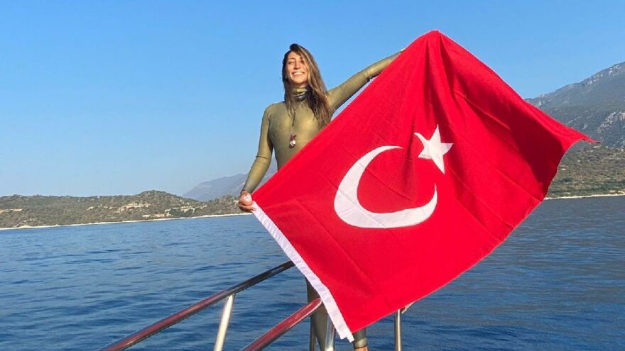 Dünya rekortmeni Fatma Uruk, Türkiye Şampiyonu oldu