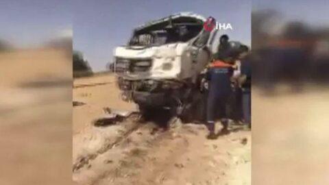 Cezayir'de katliam gibi kaza: 18 ölü