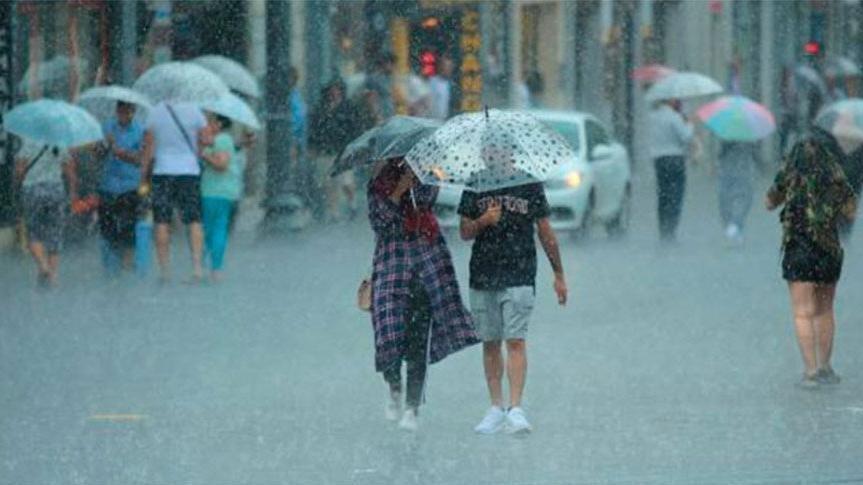 Meteoroloji'den 12 ile sağanak yağış uyarısı