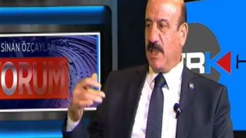 AKP'li başkandan canlı yayında İYİ Parti il başkanına küfür
