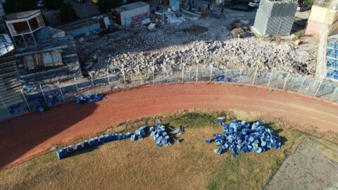 5 Ocak Fatih Terim Stadı'nda tribünlerin yıkım işlemi sona erdi