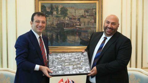 İngiltere Başkonsolosu'ndan İmamoğlu'na ziyaret: Londra ve İstanbul, birbirlerinden çok şey öğrenebilir