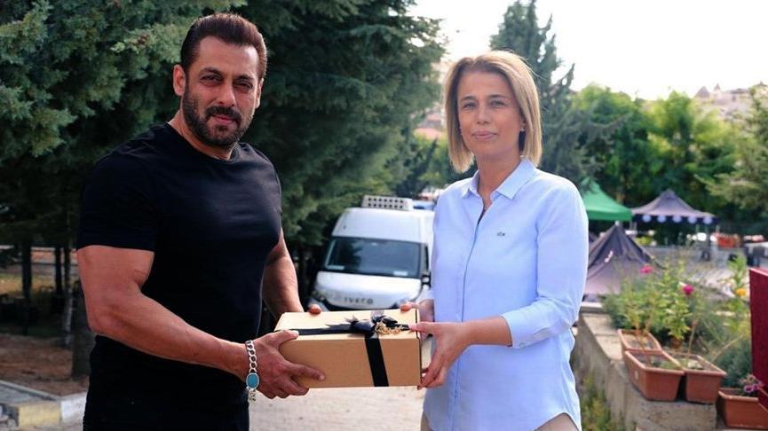 Bollywood yıldızı Salman Khan, Kapadokya'da