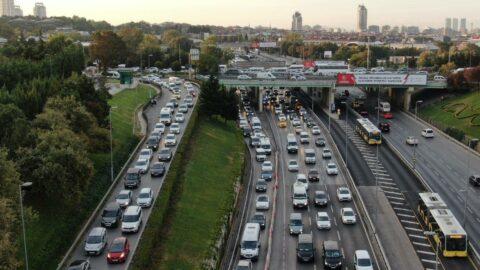 İstanbul'da trafik erken başladı, yoğunluk yüzde 56'yı gördü