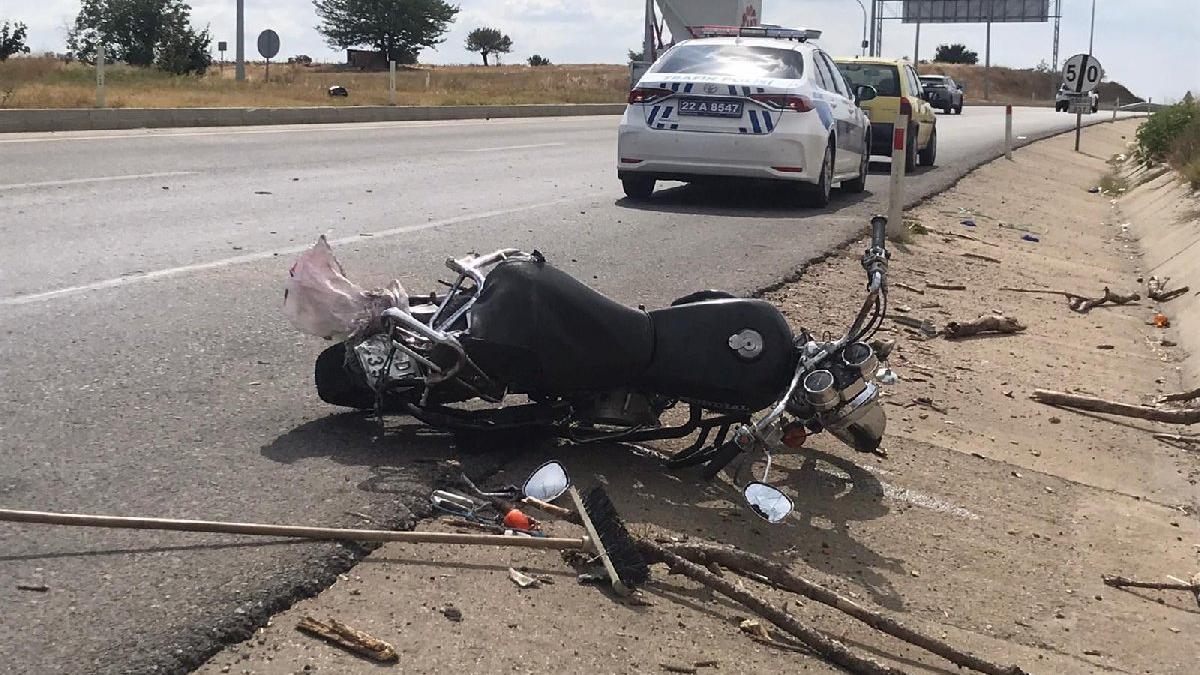Acımasız sürücü çarptığı motosiklet sürücüsünü ölüme terk etti