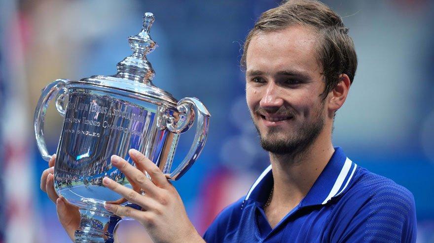 ABD Açık'ta şampiyon Medvedev