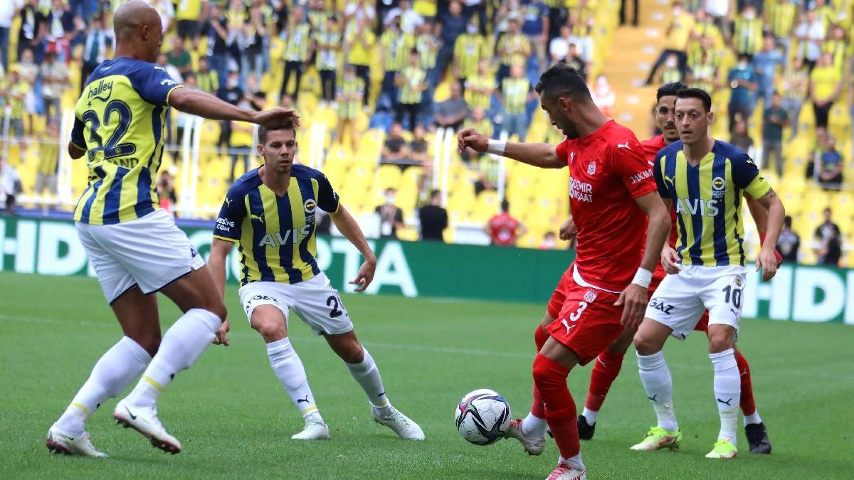 Sivasspor 914 gündür Fenerbahçe'ye yenilmiyor