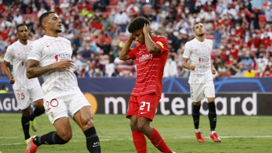Şampiyonlar Ligi'nde Sevilla-Salzburg maçına 'penaltı' damgası
