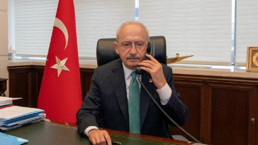 """Kılıçdaroğlu'ndan Oğuzhan Asiltürk'e """"Geçmiş olsun"""" telefonu"""