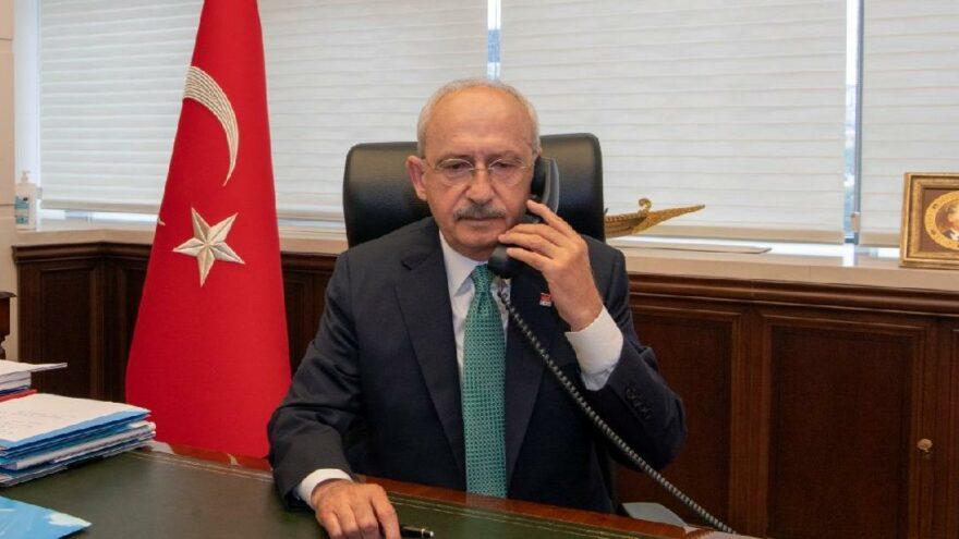 Kılıçdaroğlu'ndan Mansur Yavaş'a tebrik telefonu