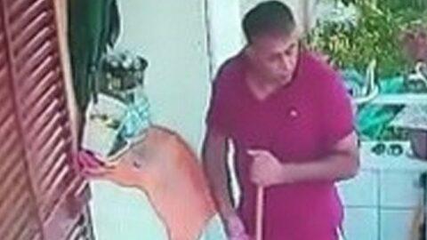 Evin kapısına ırkçı yazıda çarpıcı gelişme: Şikayetçi olarak gittiği karakolda tutuklandı