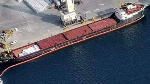 İzmit Körfezi'ni kirleten geminin sahibinin cezası belli oldu