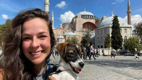 Nicolette Çekya'dan İstanbul'a yürüdü