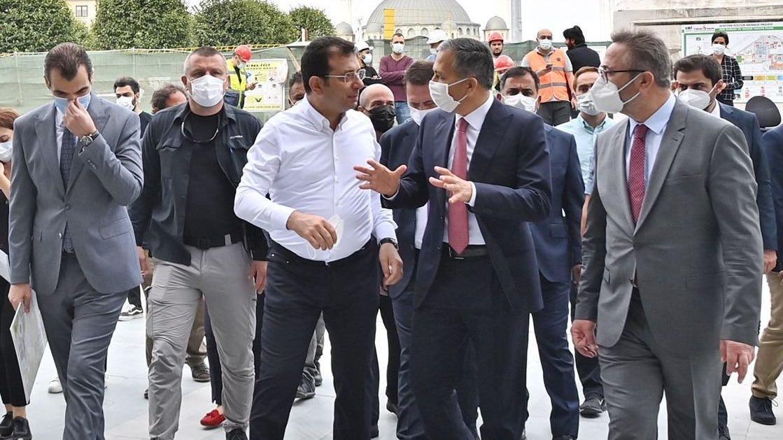 İmamoğlu'ndan AKM incelemesi: 29 Ekim'de Erdoğan açacak