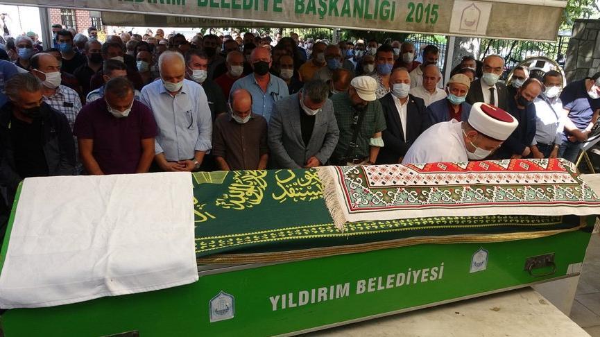 Bursa'nın 'Karagöz'ü, son yolculuğuna uğurlandı