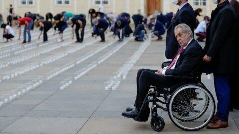 Çekya Cumhurbaşkanı Zeman hastaneye kaldırıldı