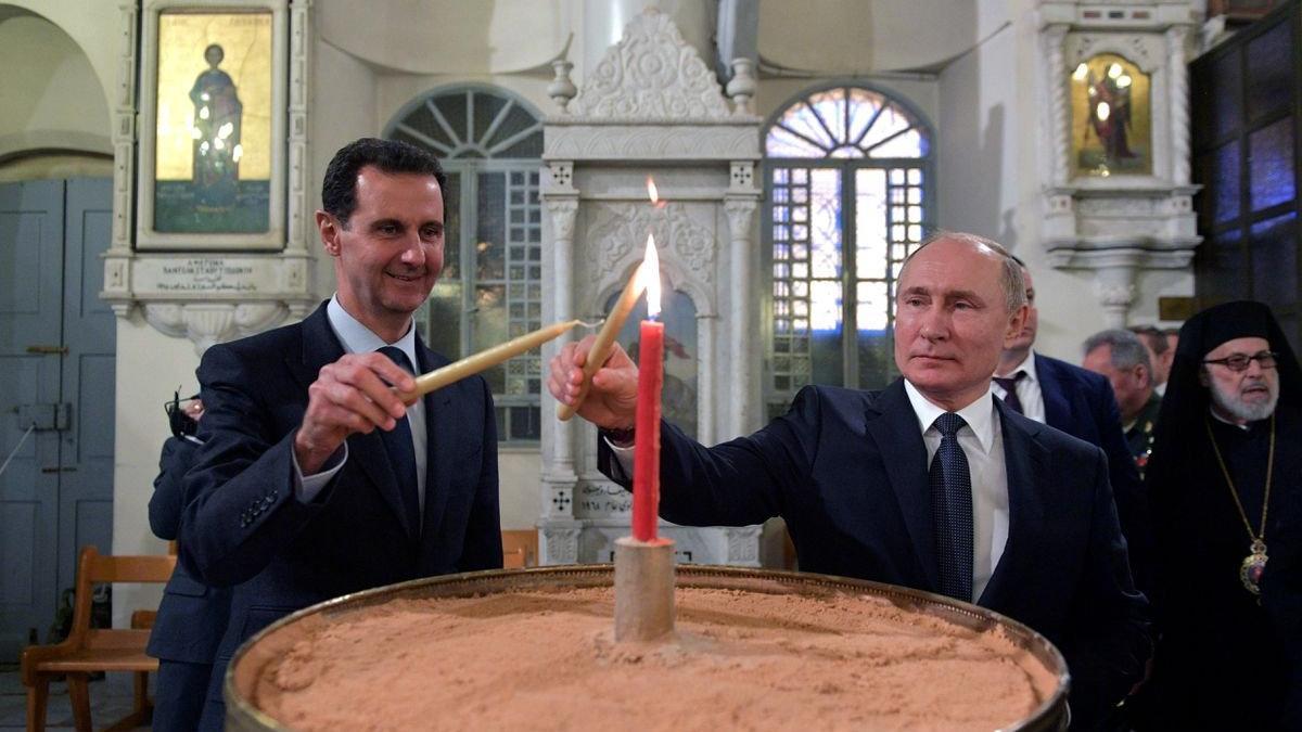 Putin, Esad'ı ağırladı: Yabancı askerler engel