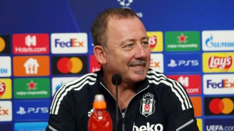 Beşiktaş Teknik Direktörü Sergen Yalçın: 'Acun Ilıcalı'dan rica etmek lazım'