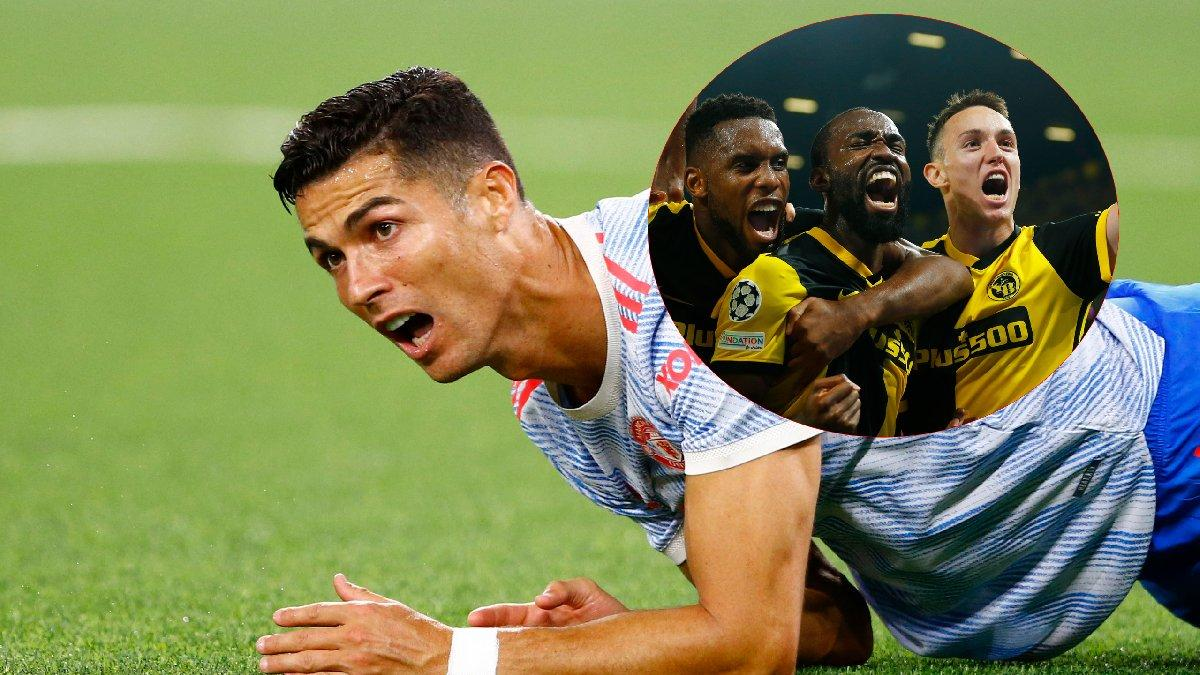 Manchester United Young Boys'a 90+5'te teslim oldu! Ronaldo da kurtaramadı...
