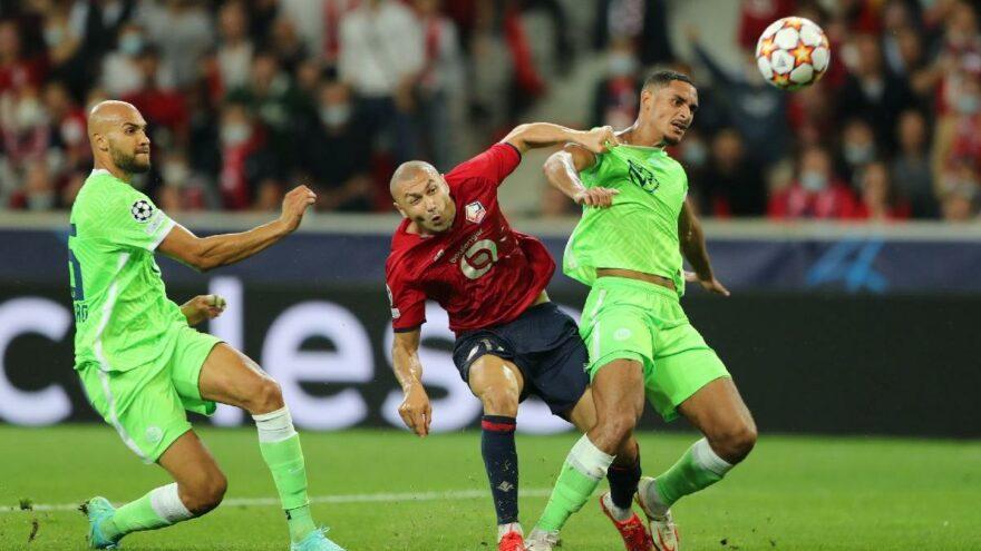 Lille 90+6'daki kararla yıkıldı! Şampiyonlar Ligi'nde Wolfsburg duvarını aşamadı…