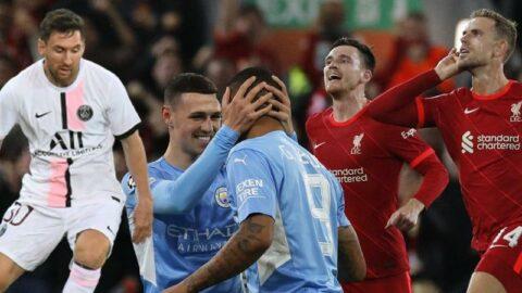 Şampiyonlar Ligi'nde gol yağdı! Messi'nin hayal kırıklığı, Liverpool'un dönüşü…
