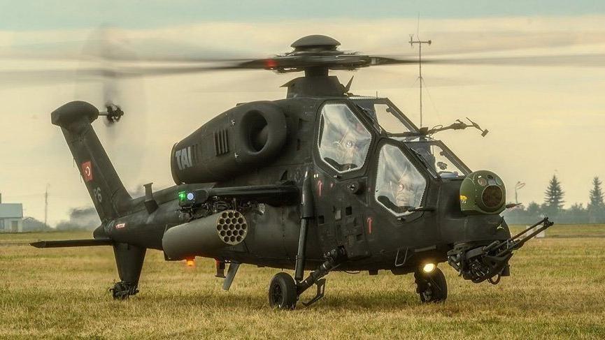 ATAK helikopterleri 4 PKK'lıyı etkisiz hale getirdi