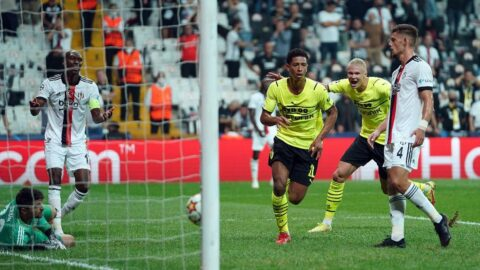 Beşiktaş iyi başladı, kötü bitirdi! Vodafone Park'ta kazanan Borussia Dortmund: 1-2