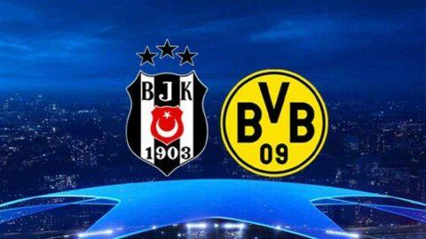 Beşiktaş Dortmund maçı saat kaçta, hangi kanalda? Şampiyonlar Ligi başlıyor... İşte karşılaşma öncesi son bilgiler