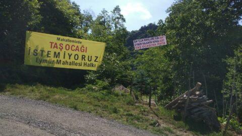 AKP'li belediyenin taş ocağına mahkeme 'dur' dedi