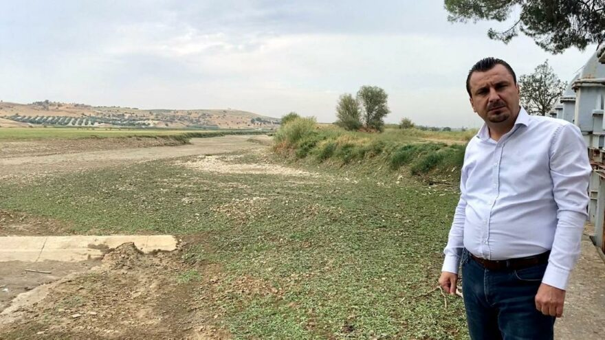 CHP'li Başevirgen Gediz Nehri'ndeki kuraklığa dikkat çekti: Önlem alınmazsa bir damla su bulamayacağız