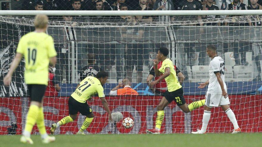Beşiktaş sezonun ilk golünü Şampiyonlar Ligi'nde yedi