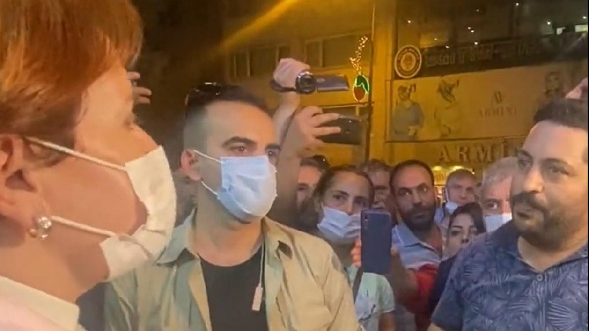 Akşener'in vatandaşla diyaloğu sosyal medyaya damga vurdu