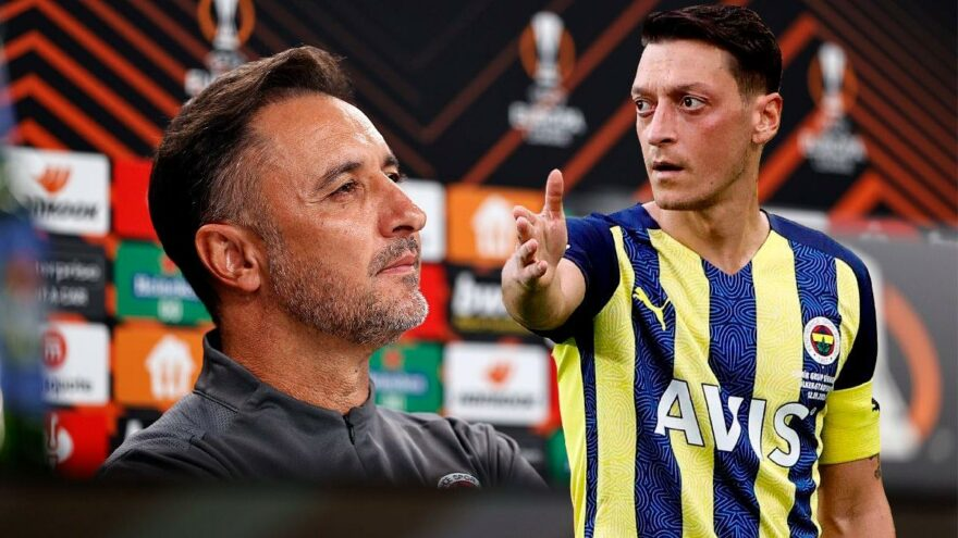 """Vitor Pereira: """"Bu soruyu bana değil, Mesut'a sormalısınız"""""""