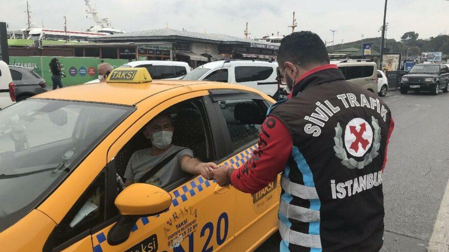 Turist kılığına giren polislerden taksicilere ceza yağdı