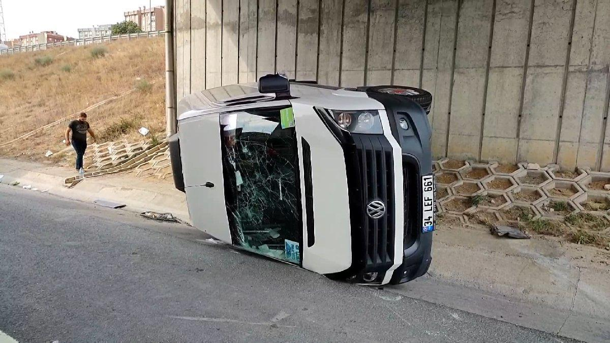 Kuzey Marmara Otoyolu'nda işçi servisi kazası