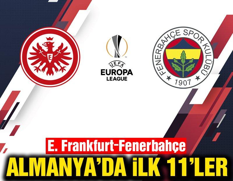 CANLI | Eintracht Frankfurt-Fenerbahçe | UEFA Avrupa Ligi