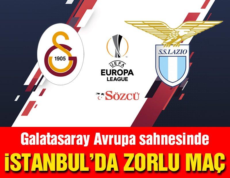 CANLI | Galatasaray-Lazio