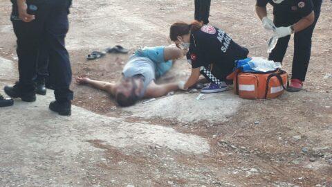 Piknik alanında bacağından vuruldu
