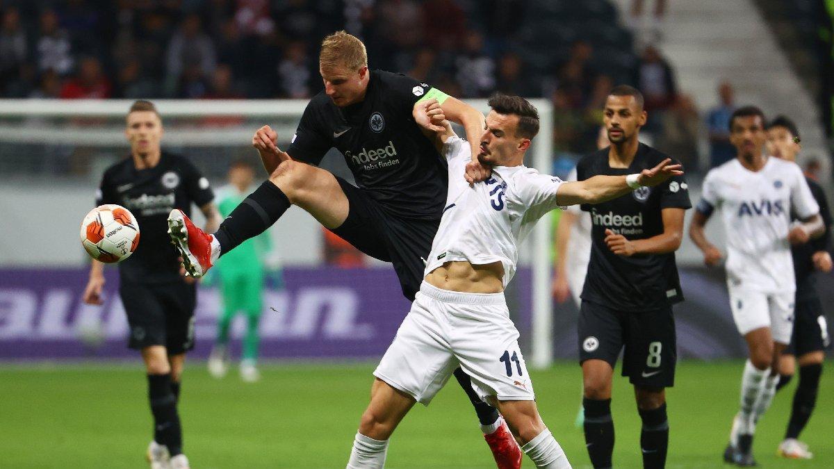 Fenerbahçe 90+3'te VAR'a takıldı! Eintracht Frankfurt zor kurtuldu...