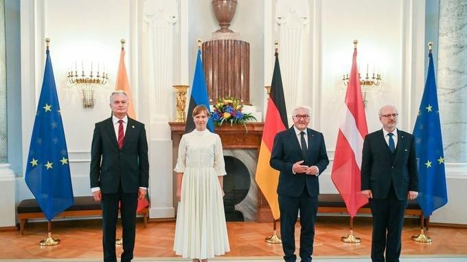 Almanya Cumhurbaşkanı Steinmeier, Baltık ülkelerinin liderleri ile görüştü