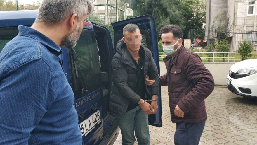 Kız arkadaşının evini taşladı, Atatürk'e hakaretten tutuklandı