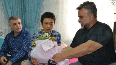 Bülent Serttaş bıçaklanan Japon turisti ziyaret edip, özür diledi