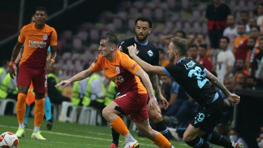 Galatasaray-Lazio maçında üç puan tek golle geldi! İnanılmaz hata maça  damga vurdu – Sözcü Gazetesi