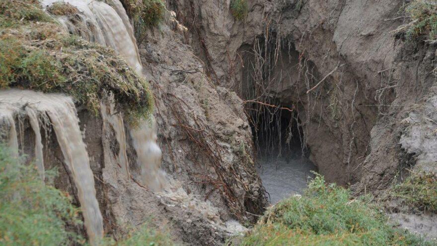 Yağmur sonrası korkutan manzara! AFAD inceleme başlattı