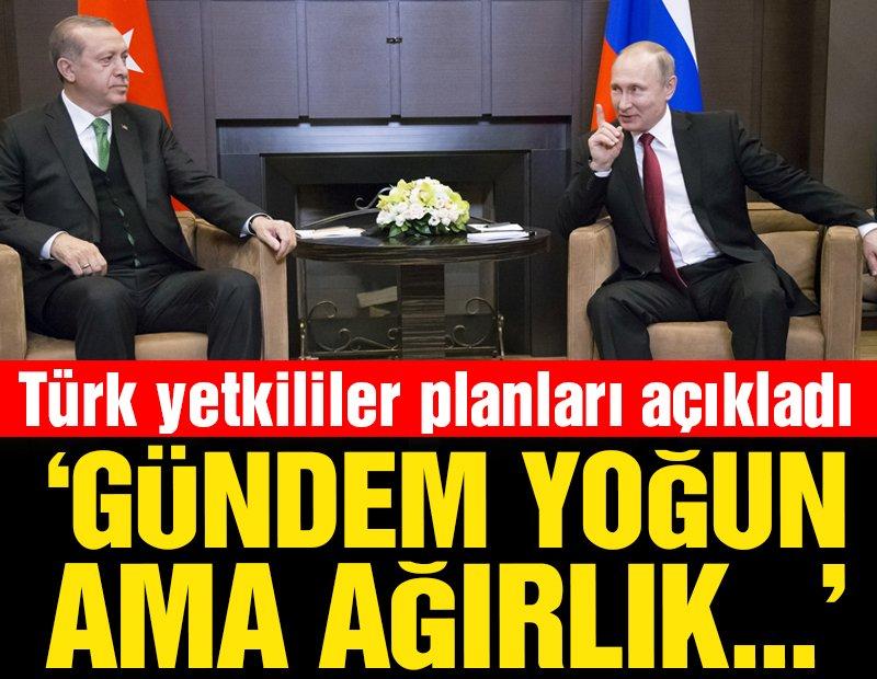 Reuters: Erdoğan ve Putin bir araya gelecek