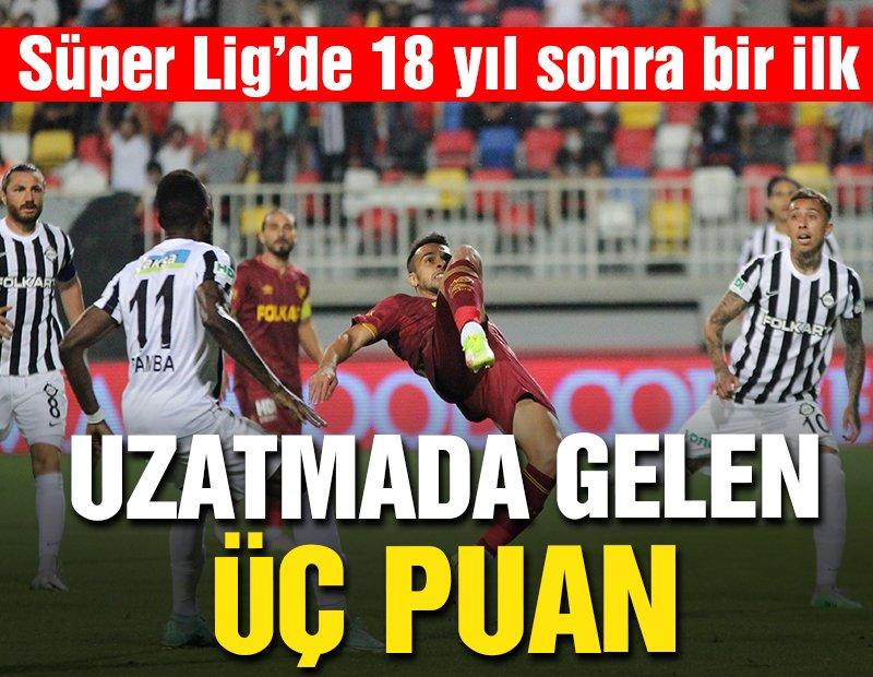 Altay-Göztepe maçında uzatmada gelen üç puan! Süper Lig'de 18 yıl sonra İzmir derbisi